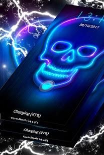 Neon Skull - náhled
