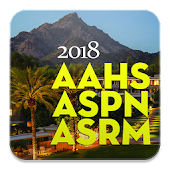 AAHS, ASPN, ASRM, 2018 Meeting