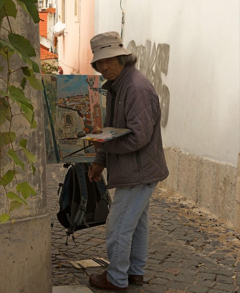 Dipingendo Lisbona  di SG67