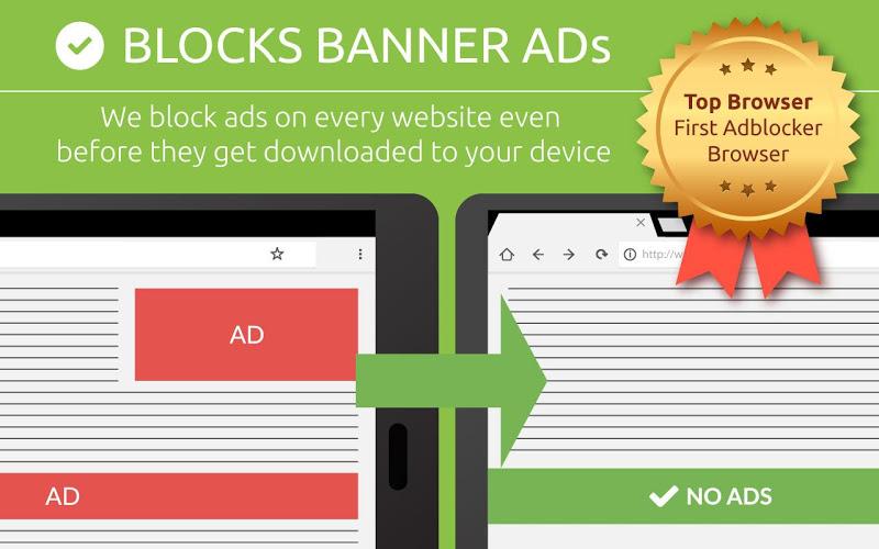 Free Adblocker Browser - Adblock & Popup Blocker Screenshot 6