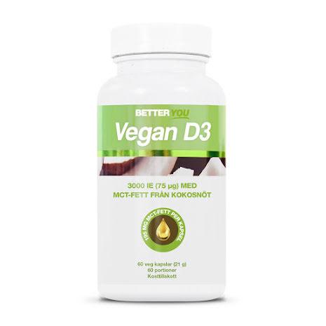 Better You Vitamin D3 Vegan 60 kapslar