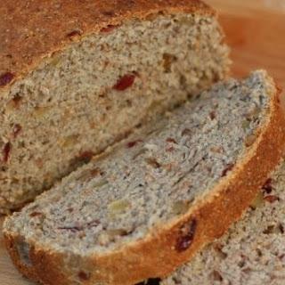 Rhubarb Walnut Bread