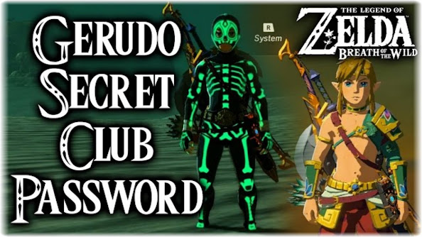 Parola d'ordine Club Segreto Gerudo di Zelda BOTW