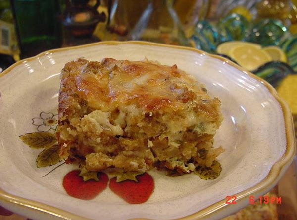 Savory Stuffing Casserole Recipe