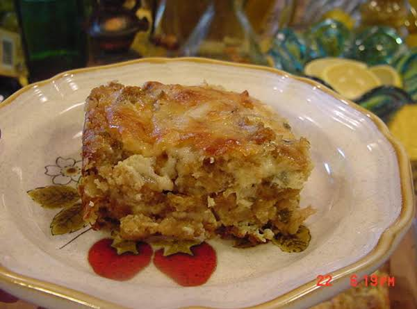 Bonnie's Savory Stuffing Casserole