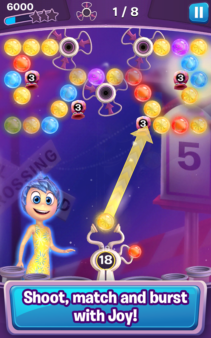 Inside Out Thought Bubbles screenshot #3