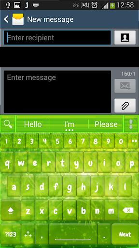 A. I. Type Green Sparkle א
