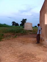 Photo: La réserve d'eau pour l'arrosage