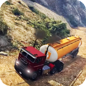 Offroad Hill Side Oil Tanker Transporter Cargo