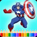 How To Color Superheroes APK