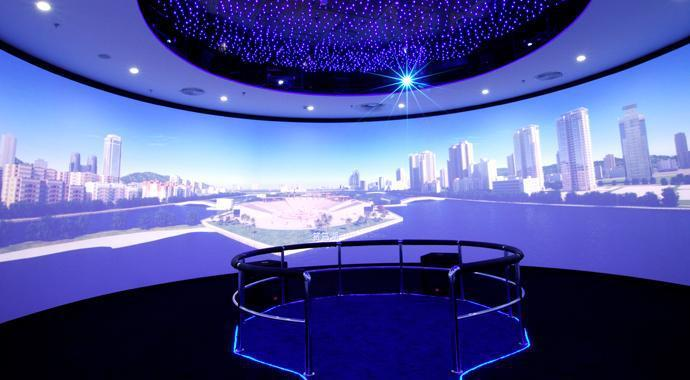 360-degree Projection Screen