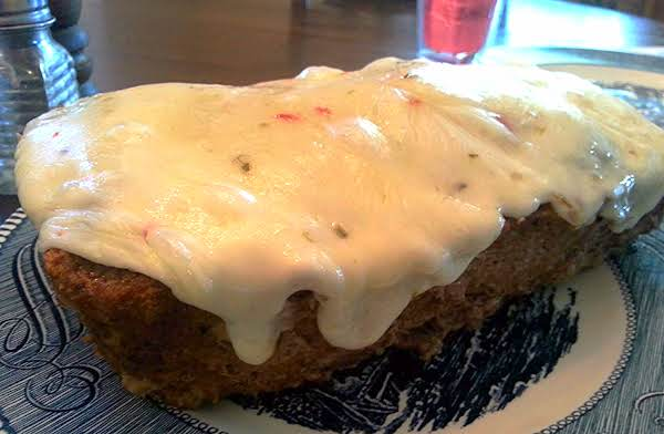 Pepper-jack Meatloaf
