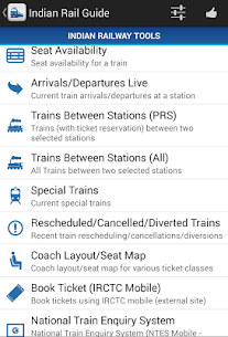 Download Indian Rail Guide App for Android 2