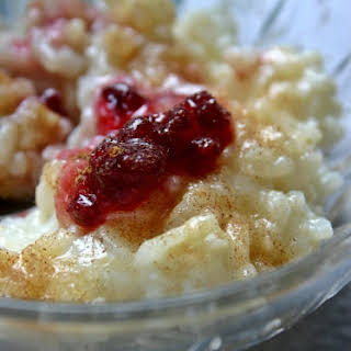 German Rice Pudding – Milchreis Dessert.