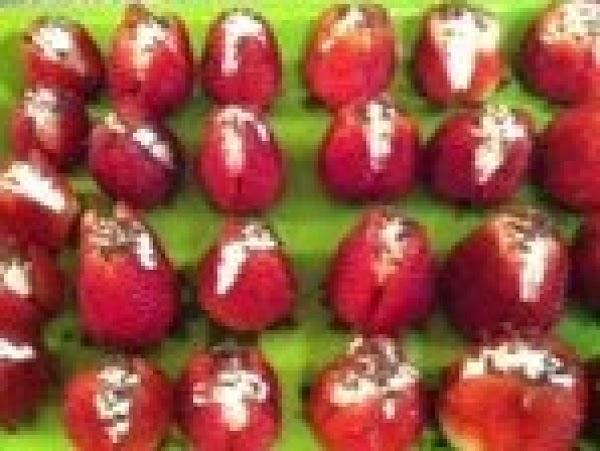 Cheesecake Stuffed Strawberries (or Yogurt) Recipe