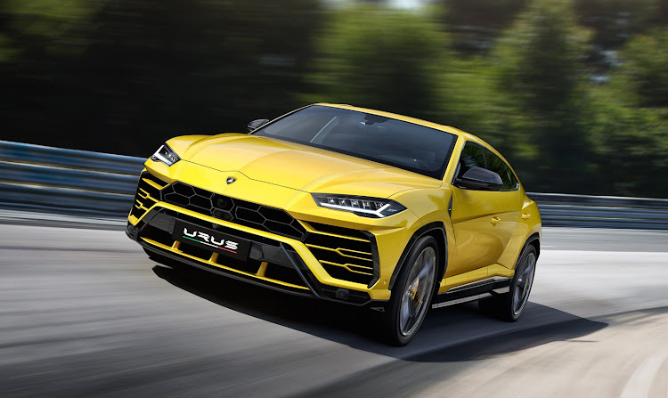 Lamborghini will launch its Urus Super SUV in South Africa