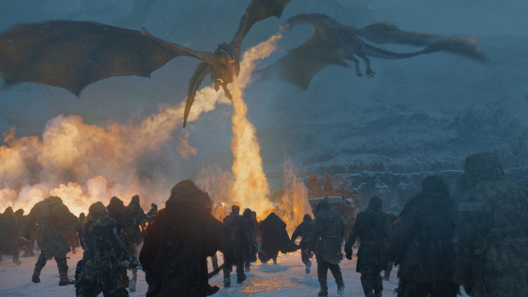 Game of Thrones Saison 7 episode 6 attaque dragon