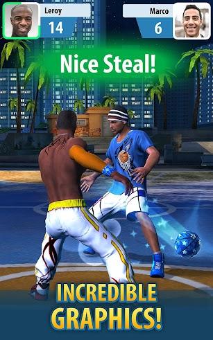 Basketball Stars screenshot for Android