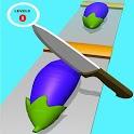 Perfect Cut Fruit Slice - Veggie Slicer Knife Game icon