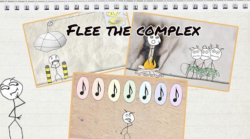 Troll Face Quest Whack Boss: capturas de pantalla del Knight Fleeing Complex 5