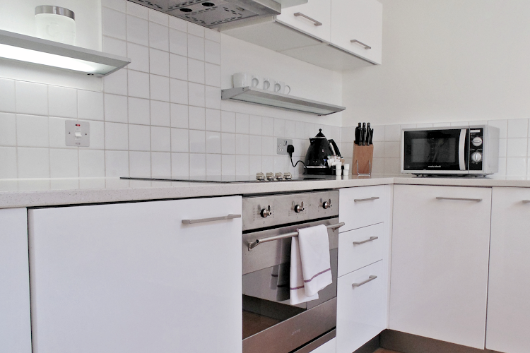 Fully equipped kitchen at King's Cross Executive