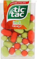 Tic Tac Fields - Lime & Orange, 18g