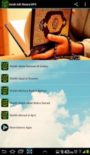 Surah Ash Shuara MP3 الشعراء - náhled