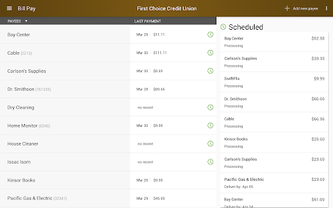 First Choice Credit Union screenshot 13