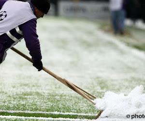 Après la neige, place au football aux Pays-Bas
