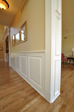 Photo: (After) TT's Hallway Raised style wainscot Berwyn, PA