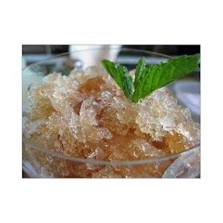 Mint Tea Granita