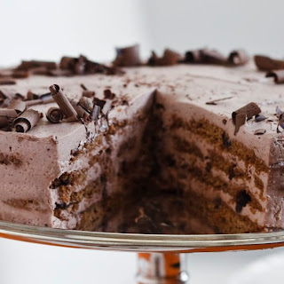 Mocha Chocolate Icebox Cake.
