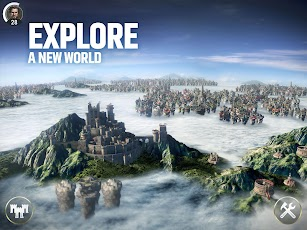 Dawn of Titans - Epic War Strategy Game screenshot for Android