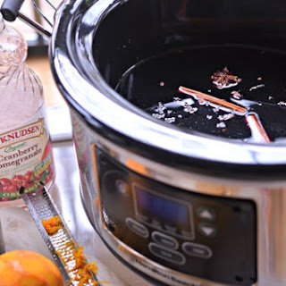 Slow Cooker Mulled Wine.