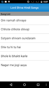 Lord Shiva Hindi Songs screenshot 1