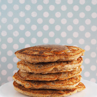 Easy Vegan Cornmeal Pancakes