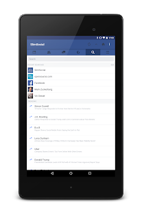 SlimSocial for Facebook Screenshot
