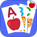 ABC Flash Cards for Kids Game icon