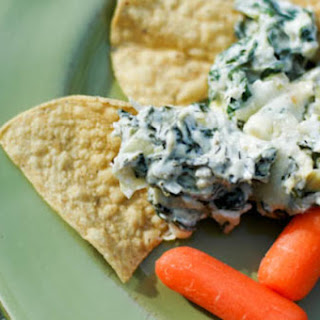 Warm Spinach and Artichoke Dip.