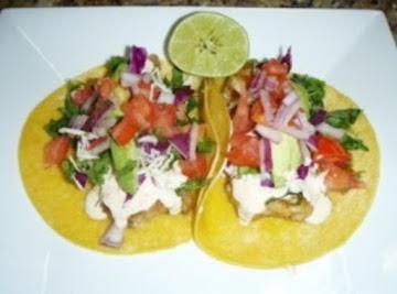 My Texas Fish Tacos Recipe