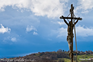 Photo: Allassac (Corrèze) - Christ