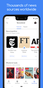 Google News: Top World & Local News Headlines 5