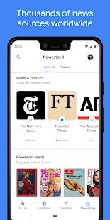 App Google News: Top World & Local News Headlines APK for Windows Phone