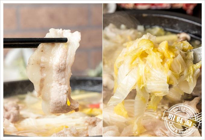 嘉義老牌石頭火鍋酸菜白肉石頭火鍋