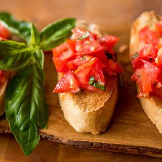 Bruschetta – Simple and Delicious.