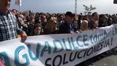 Aguadulce en Marcha con más de 1.000 personas en la manifestación