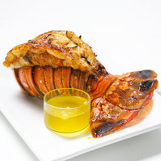 Broiled Lobster Tails with Garlic-Chili Butter Recipe