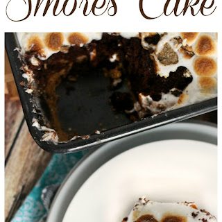 Salted Caramel S'Mores Cake Recipe
