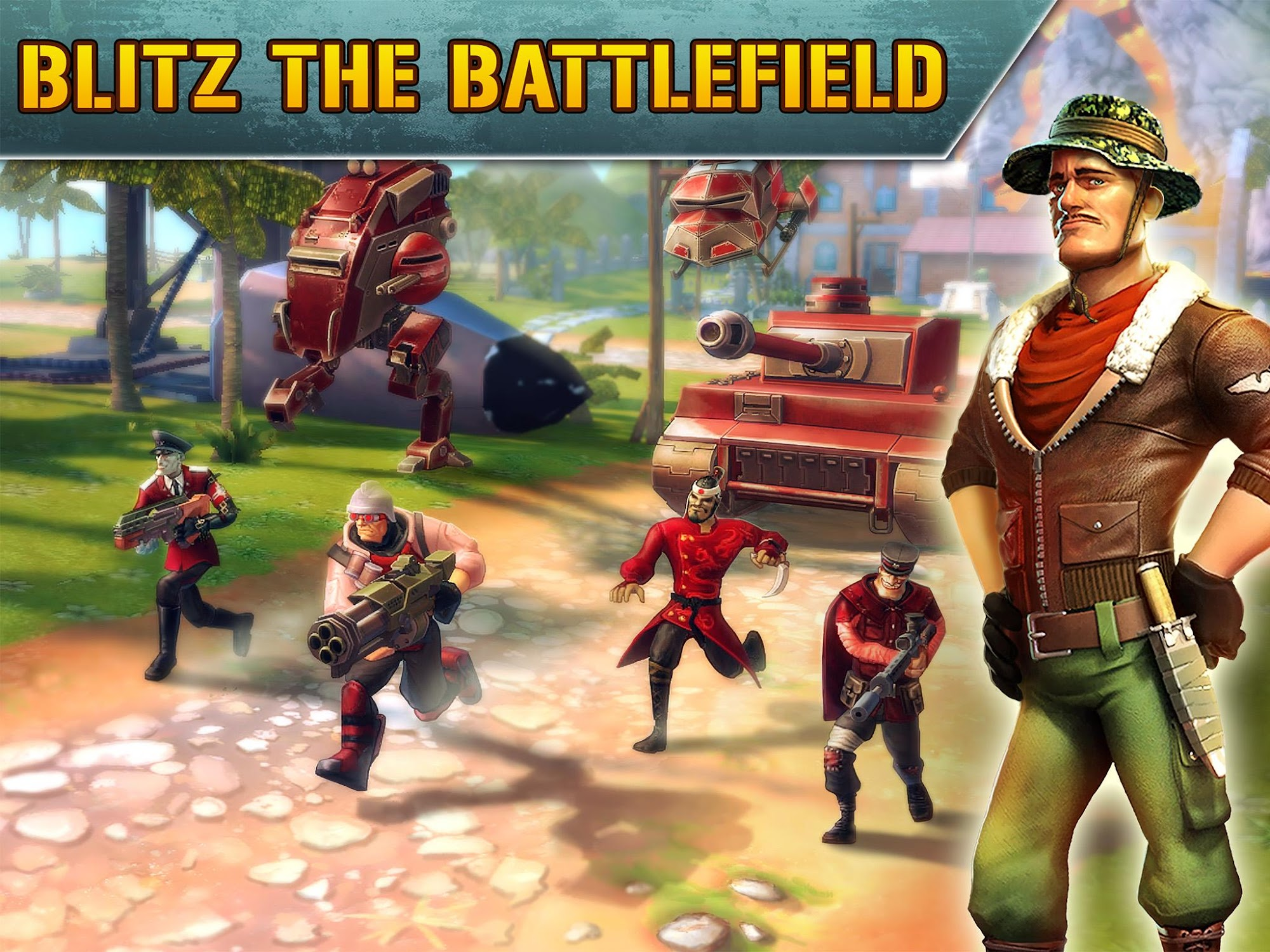 Blitz Brigade - Online FPS fun screenshot #1