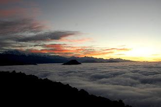 Photo: NEPAL- sunrise at Therepati
